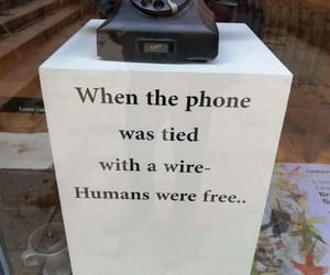 phone and old days image