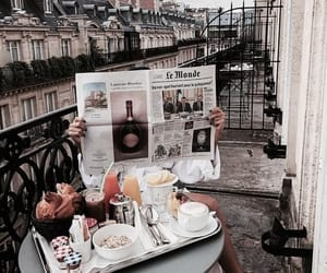 breakfast, food, and paris image