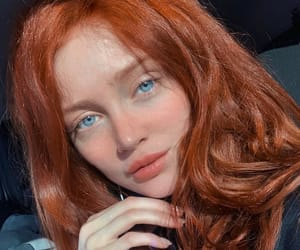 redhead and hair image