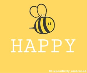 bee, motivation, and positivity image