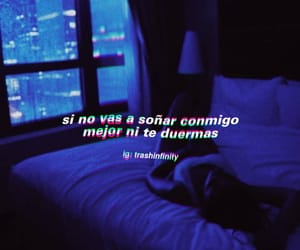 dormir, frases, and pareja image