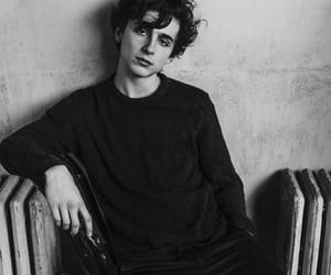 timothee chalamet, call me by your name, and black and white image