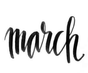 birthday, march, and month image