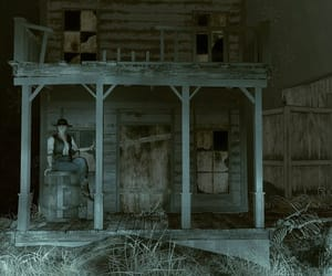 abandoned, Cowgirl, and mannequin image