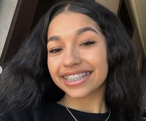 braces, girls, and hair image