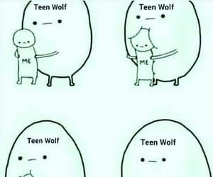 teen wolf, funny, and meme image