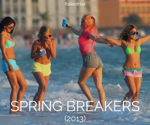 beach, spring breakers, and movies you should watch image
