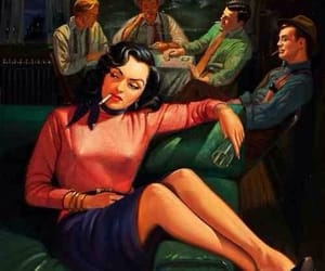 vintage and pulp art image