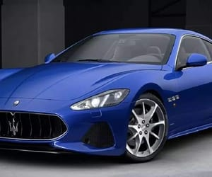 blue, car, and glamour image