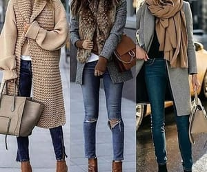 autumn, fall, and outfit image