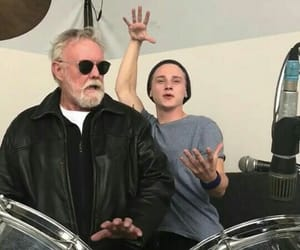 ben hardy, Queen, and roger taylor image