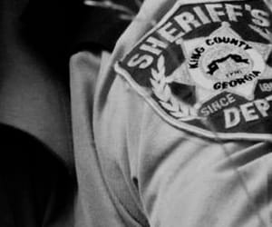 southern gothic and sheriff image