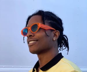 fashion, rapper, and asap rocky image