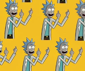 background, wallpaper, and rick and morty image