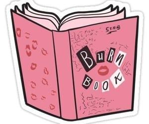 book, burn book, and pink image