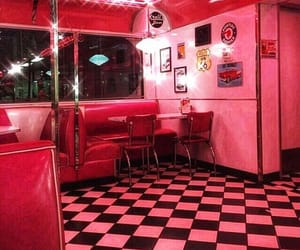 pink, aesthetic, and red image