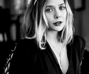 blonde, elizabeth olsen, and pretty image