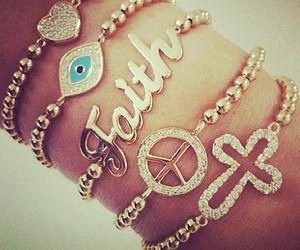 bracelet, faith, and peace image