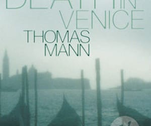book, cover, and death in venice image