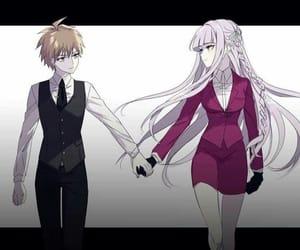 anime, makoto, and danganronpa image