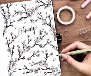 art, delicate, and february image