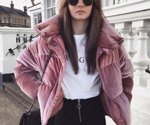 casual, clothing, and puffer jacket image
