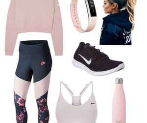 blond, pink, and sport image