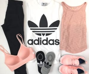 black, clothes, and pink image