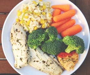broccoli, carrot, and eat image