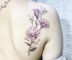 art, flower, and tattoo image