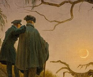 art, classical, and Friedrich image