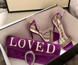 gucci, fashion, and heels image