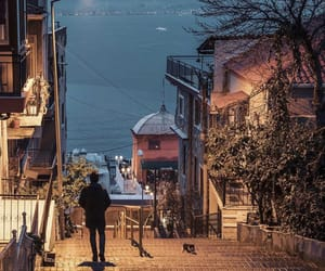 istanbul, sea, and street image