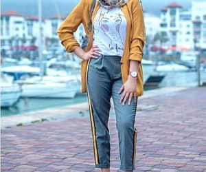 dressy pants hijab image