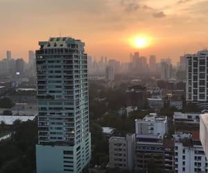 bangkok, city, and sky image