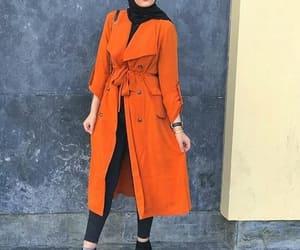 trench coat hijab image