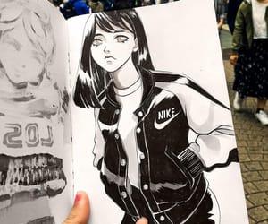 girl, Harajuku, and illustration image