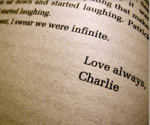 charlie, book, and infinite image