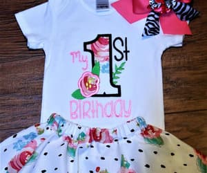 bodysuit, onesie, and baby girl clothes image