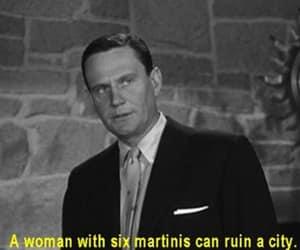 vintage, martini, and movie image