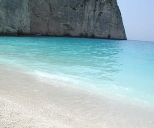 beach, Greece, and travel image
