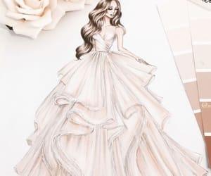 art, beauty, and dress image