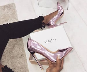 shoes, girly, and heels image
