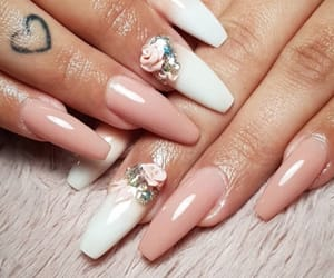 nails, gelnails, and cute image