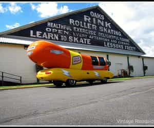 hotdogs, vintage photo, and roller rink image