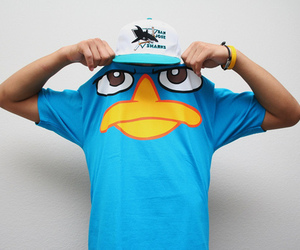 perry, blue, and boy image