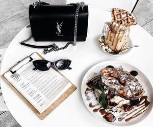 food, bag, and YSL image