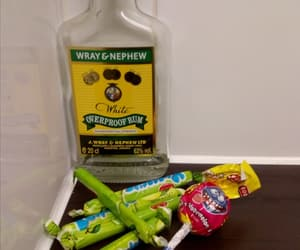 alcohol, rum, and sweets image
