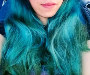 mermaid hair, to dye for, and hairdyes image