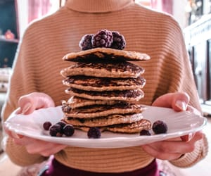 afternoon, blackberry, and pancakes image